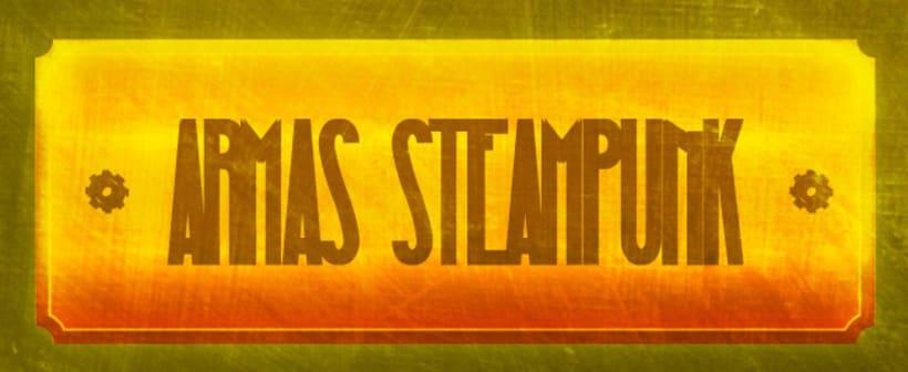 Armas Steampunk 1