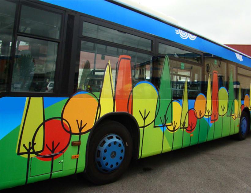 Diseño autobús urbano 4