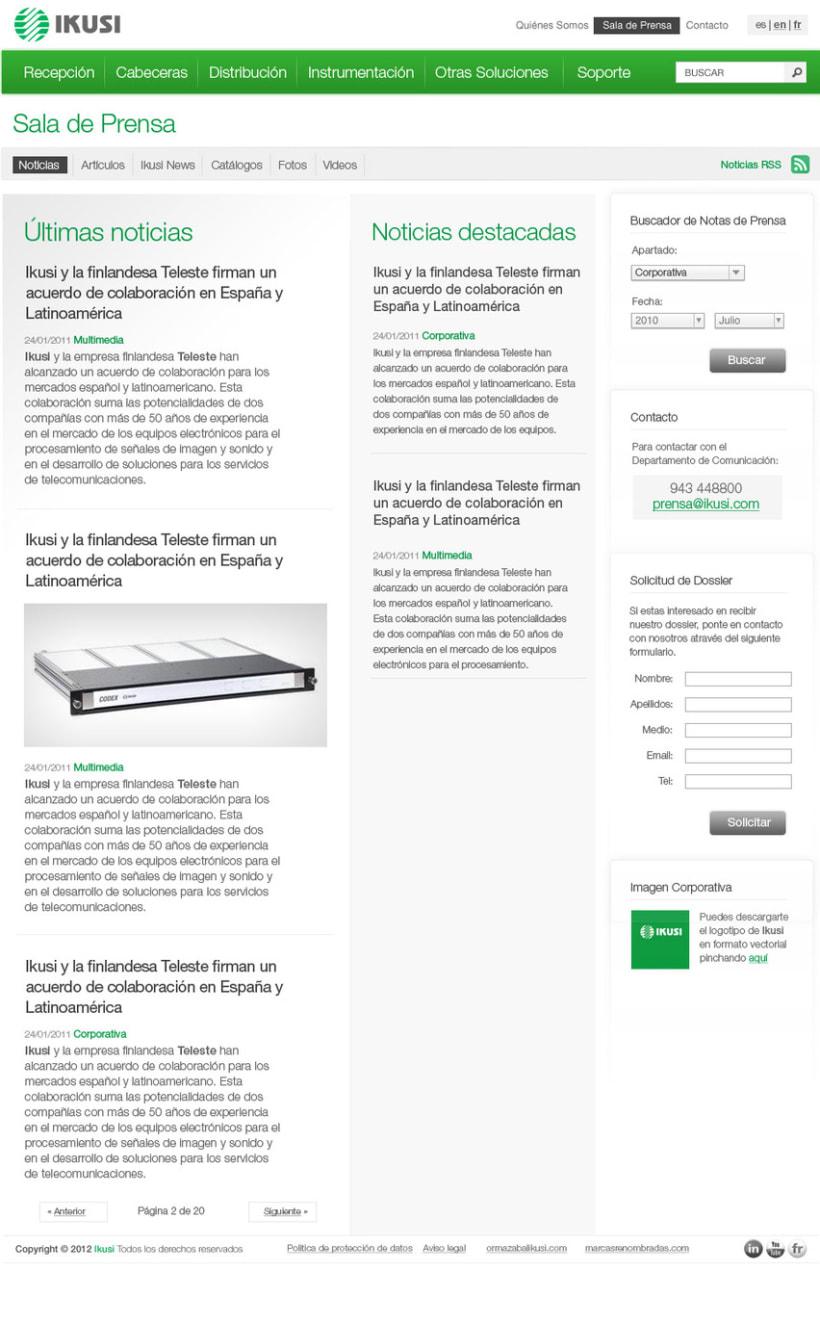 Ikusi - Diseño Web 5