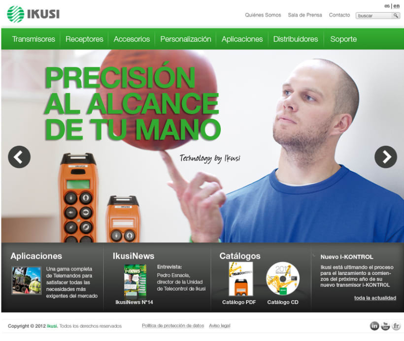 Ikusi - Diseño Web 7