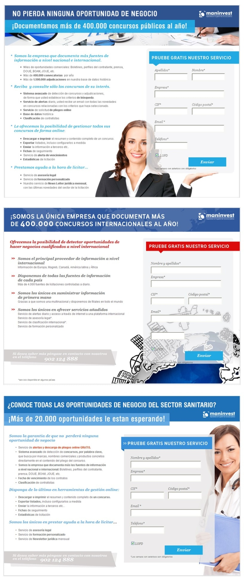 Maninvest Landing pages 2012 1