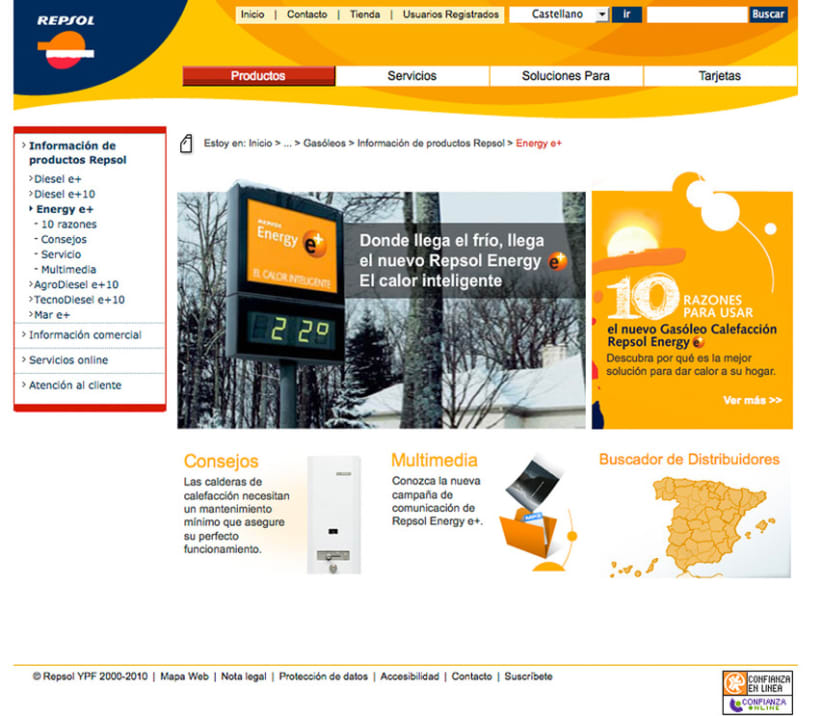 Repsol - Diseño Web 5