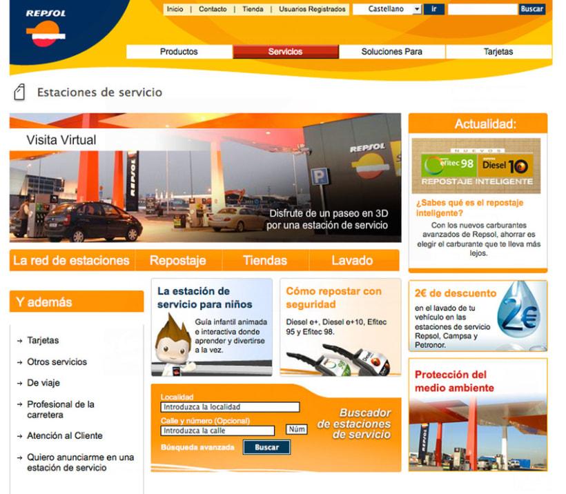 Repsol - Diseño Web 4