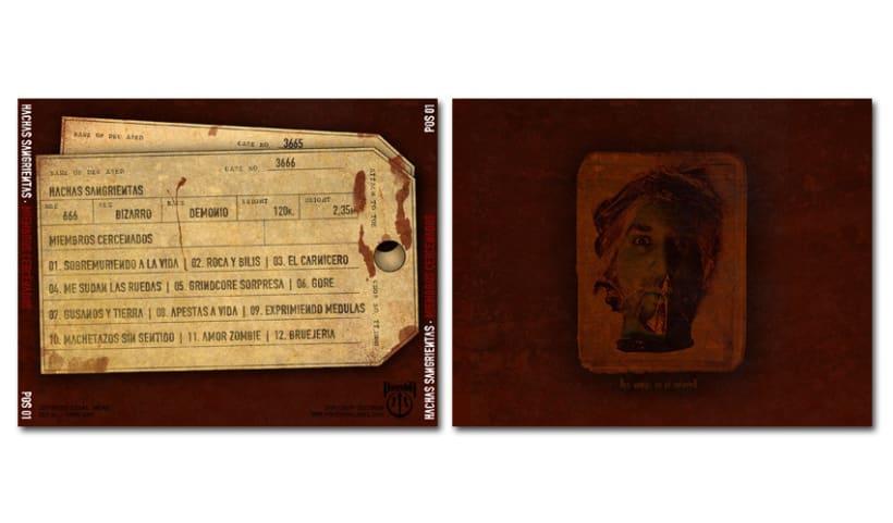 HACHAS SANGRIENTAS - CD | miembros cercenados 3