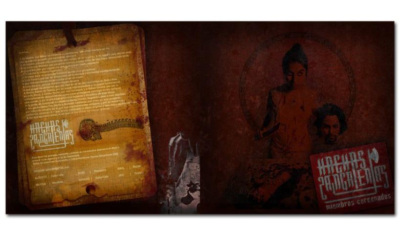 HACHAS SANGRIENTAS - CD | miembros cercenados 2