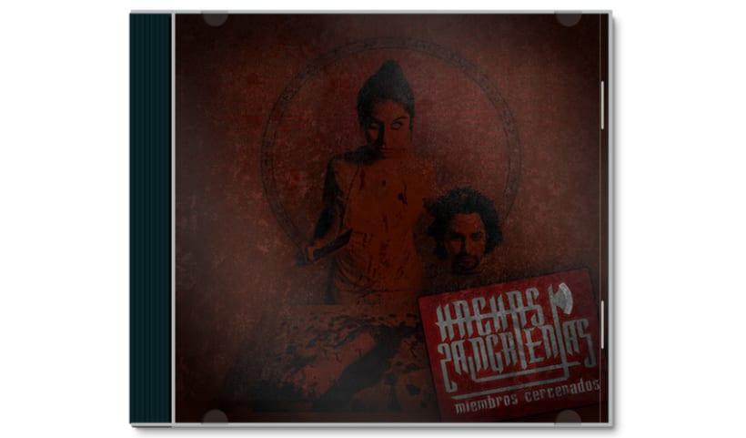 HACHAS SANGRIENTAS - CD | miembros cercenados 1