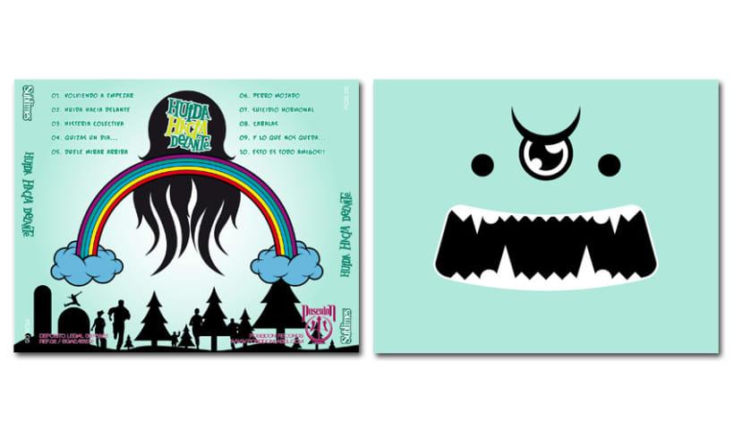 SUBLIMES - CD | huida hacia delante 3