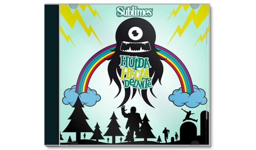 SUBLIMES - CD | huida hacia delante 1