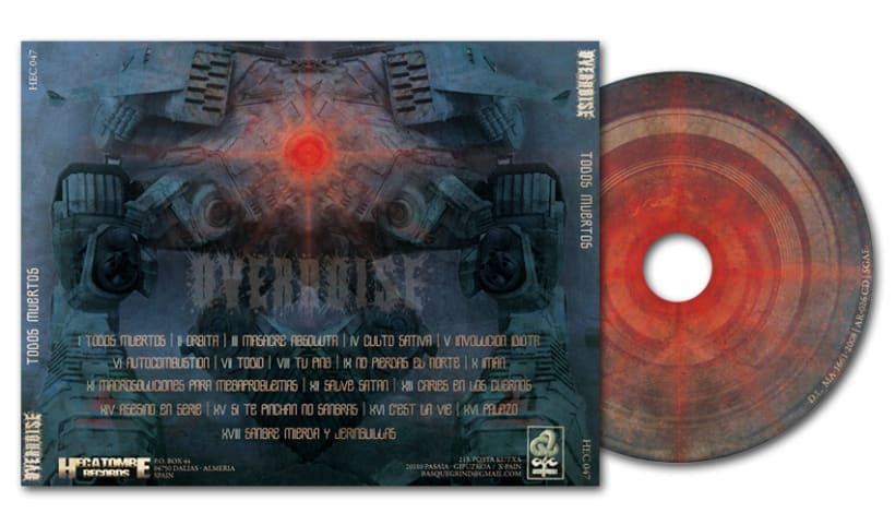 OVERNOISE - CD | todos muertos 4