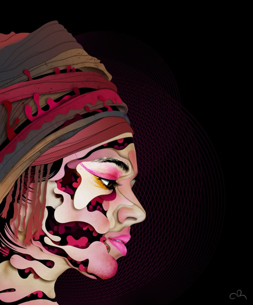 Retrato abstracto 2
