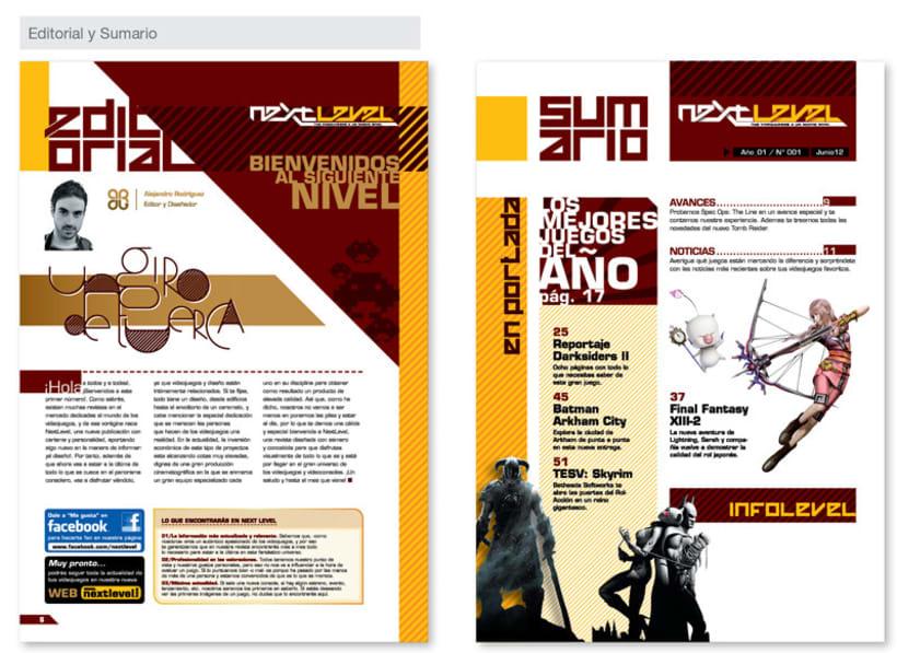 Revista de Videojuegos Next Level 2