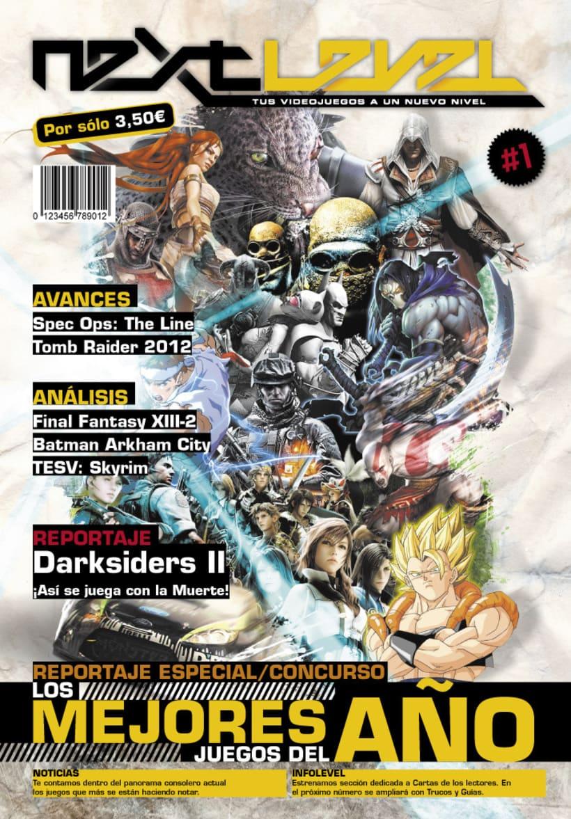 Revista de Videojuegos Next Level 1