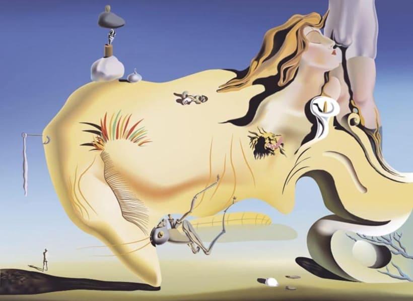 El gran masturbardor (Salvador Dalí) 1