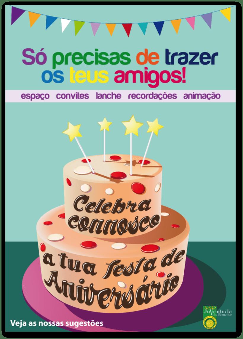 Cartaz Festa de Aniversário 1
