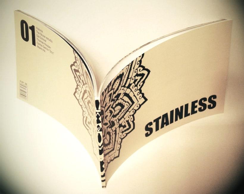 STAINLESS TATTOO MAGAZINE 4