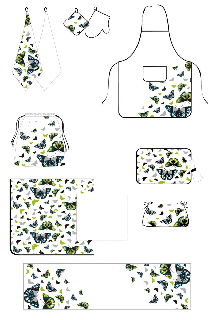 Graphic home textile 2