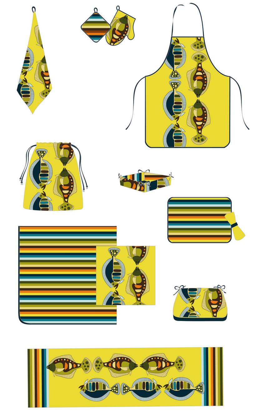 Graphic home textile II 3