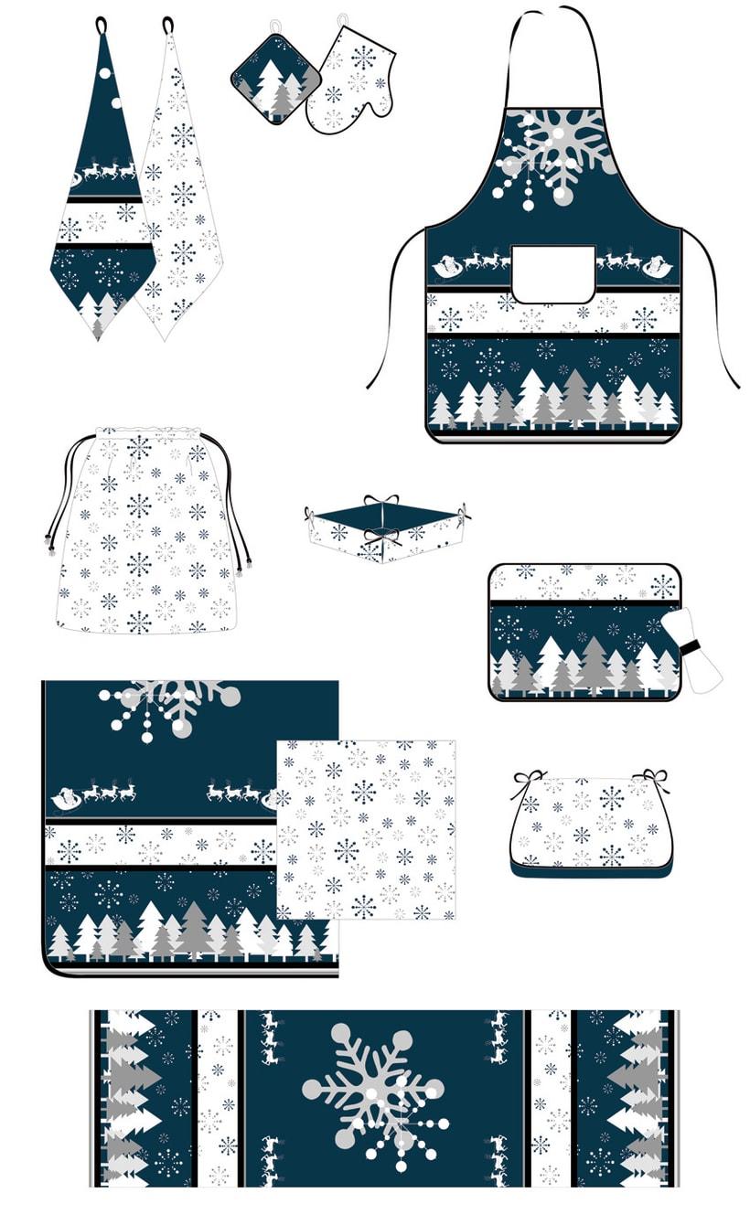 Graphic home textile II 1