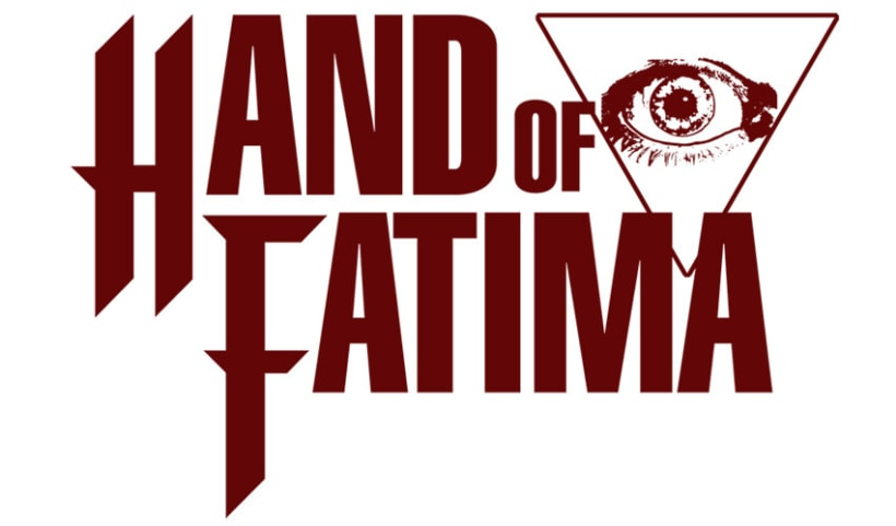 HAND OF FATIMA | camiseta + logotipo 2
