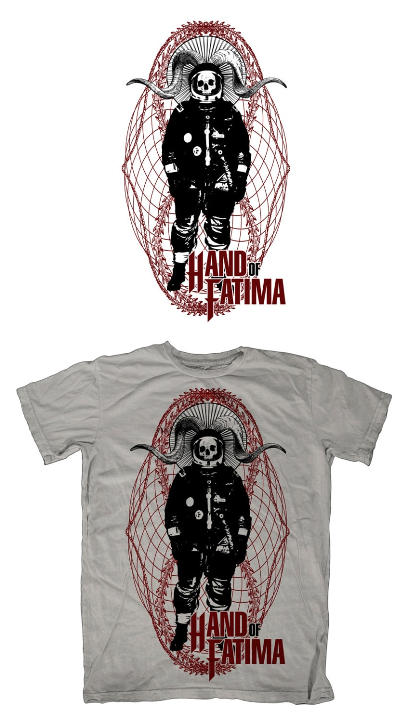 HAND OF FATIMA | camiseta + logotipo 1