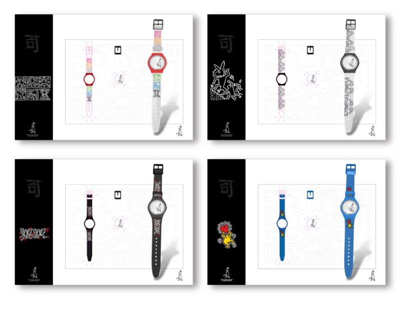 Colección de relojes Keith Haring 1