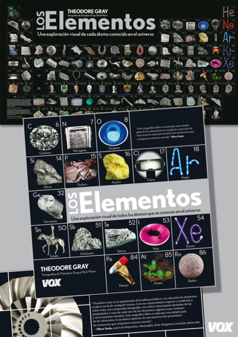 Material promocional LAROUSSE & VOX 12