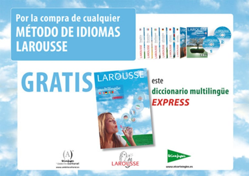 Material promocional LAROUSSE & VOX 6