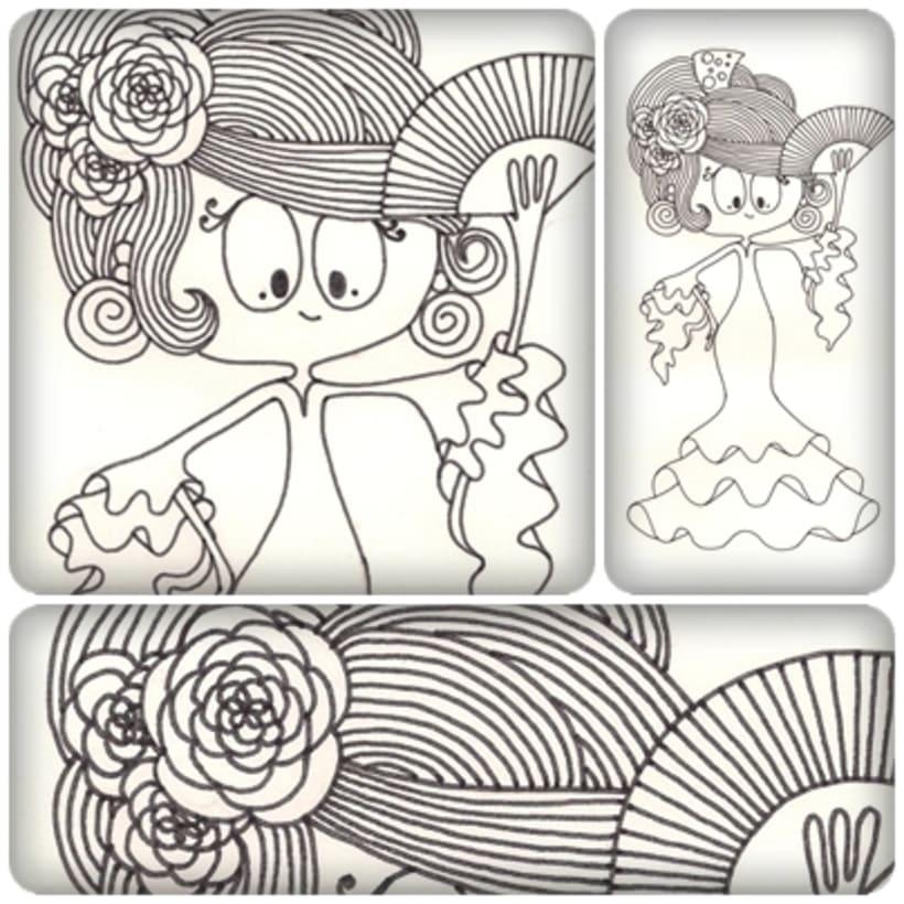 Ilustraciones para Tres Tigres Tristes 6