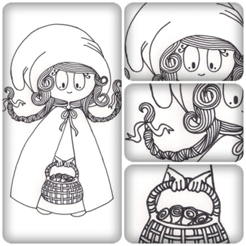 Ilustraciones para Tres Tigres Tristes 3
