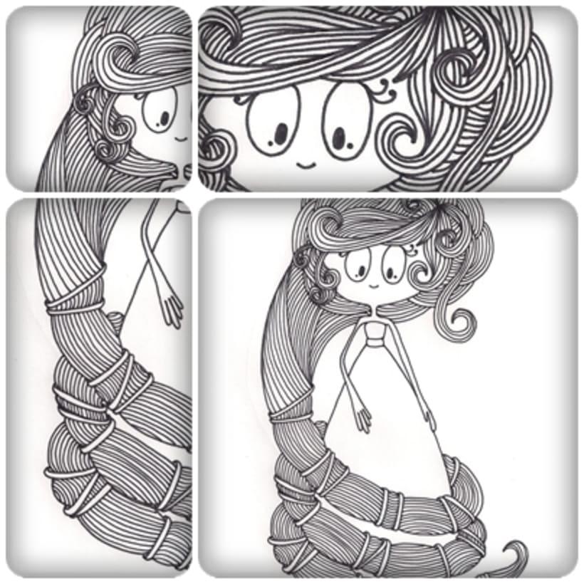 Ilustraciones para Tres Tigres Tristes 2