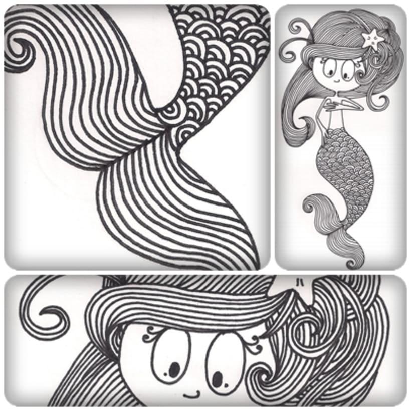 Ilustraciones para Tres Tigres Tristes 1