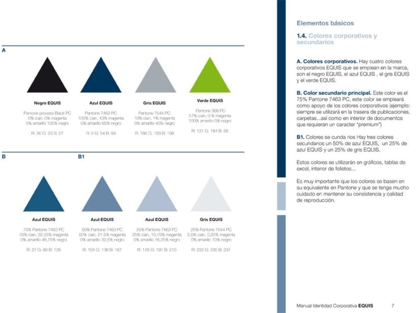 Manual Corporativo (Manual de Identidad Corporativa De EQUIS Equipo de Intervención Social 12
