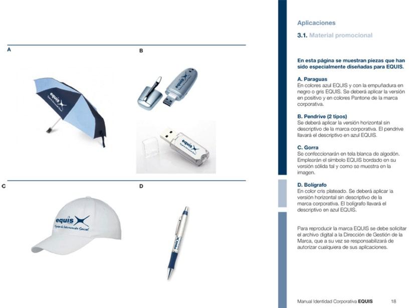 Manual Corporativo (Manual de Identidad Corporativa De EQUIS Equipo de Intervención Social 9