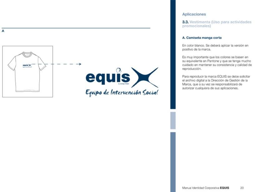 Manual Corporativo (Manual de Identidad Corporativa De EQUIS Equipo de Intervención Social 7