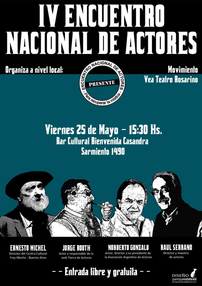 IV Encuentro Nacional de Actores 1