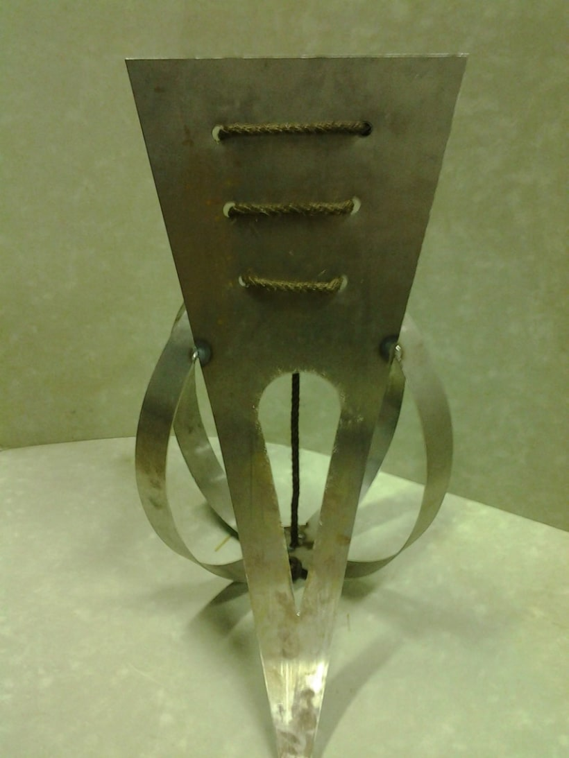 Sculptural project (metal working) 1