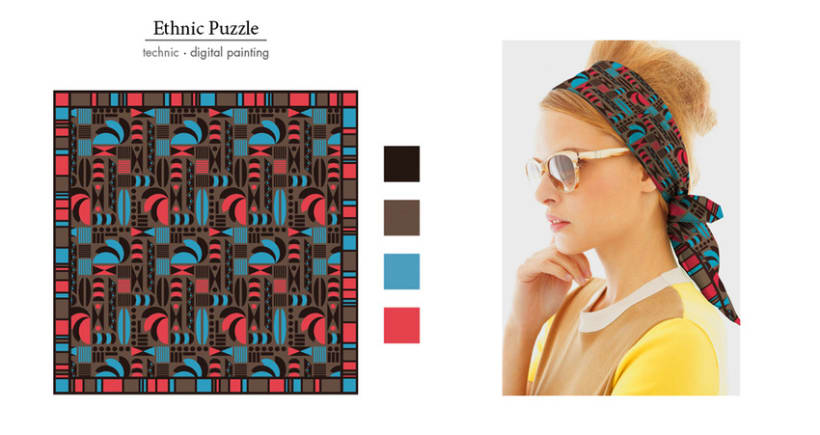 Foulard Pattern Collection 4