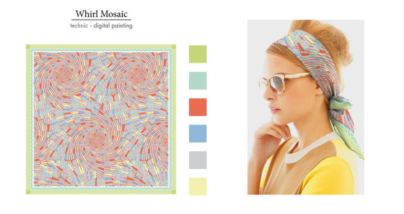 Foulard Pattern Collection 1