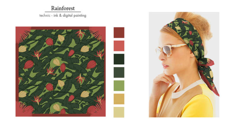 Foulard Pattern Collection 5