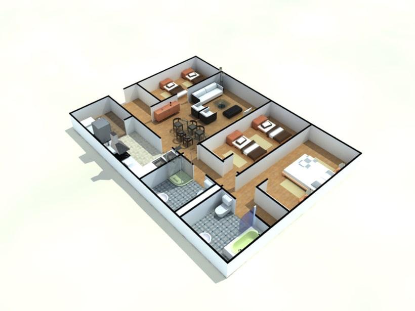 Interiores, Exteriores y Mobiliario 36
