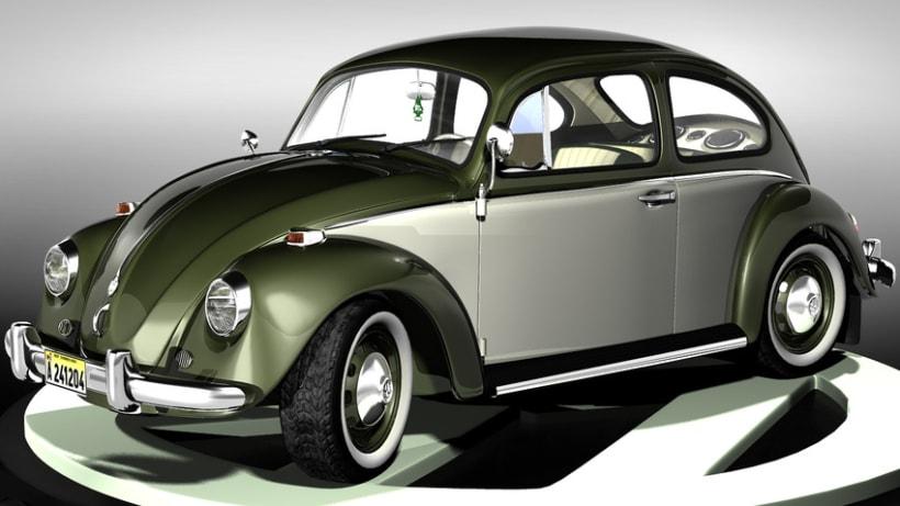 Modelando el Escarabajo de mis Fantasías 9