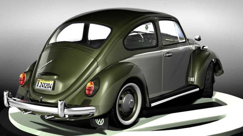 Modelando el Escarabajo de mis Fantasías 8