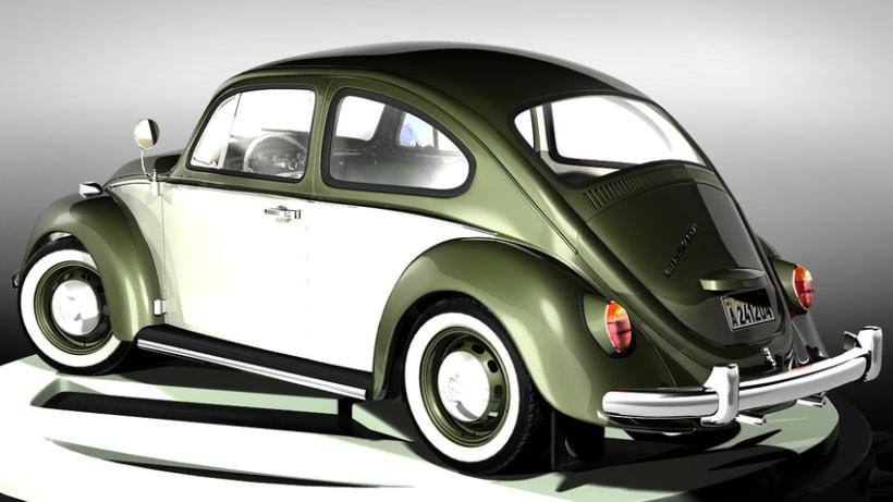 Modelando el Escarabajo de mis Fantasías 7