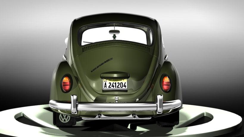Modelando el Escarabajo de mis Fantasías 6