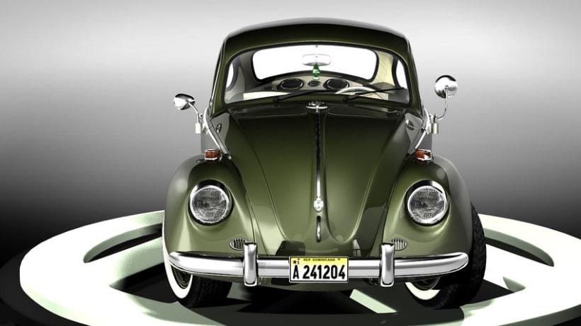 Modelando el Escarabajo de mis Fantasías 5