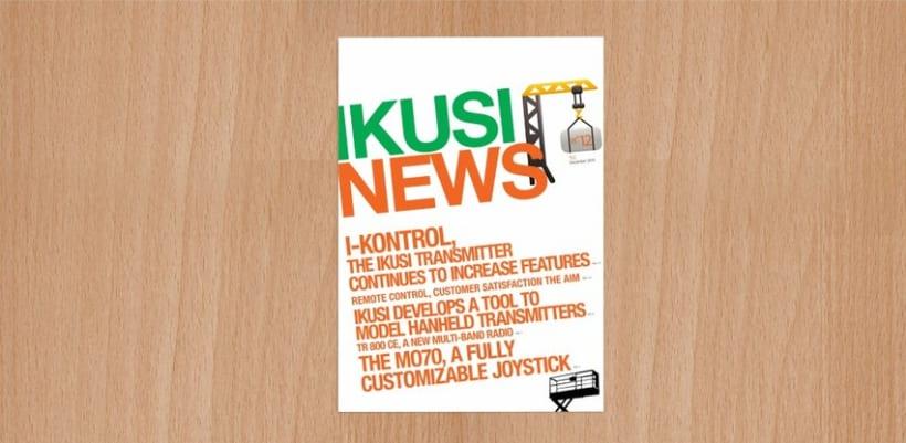Ikusi News - Diseño Editorial 1