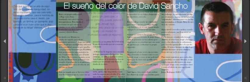 Diptico exposicion de pintura David Sancho 5