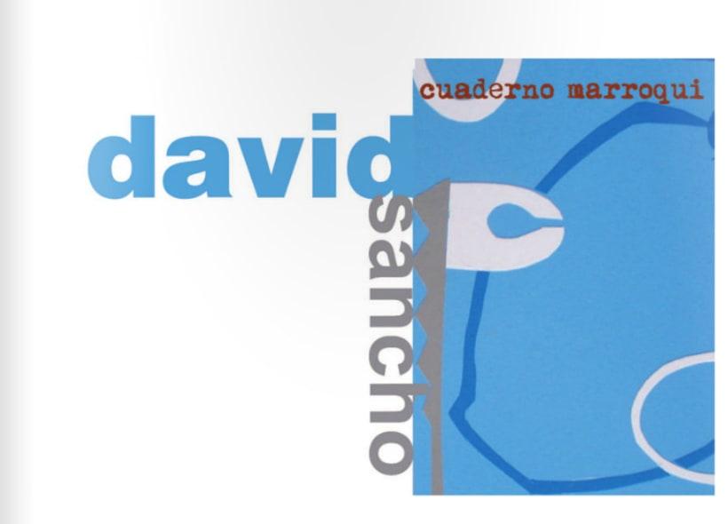 Diptico exposicion de pintura David Sancho 2