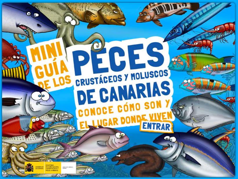 Miniguía de los peces, crustáceos y moluscos de Canarias 1
