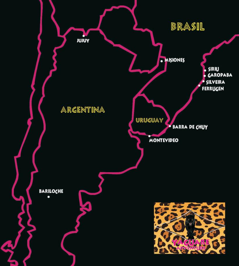 Mapa Destinos  1